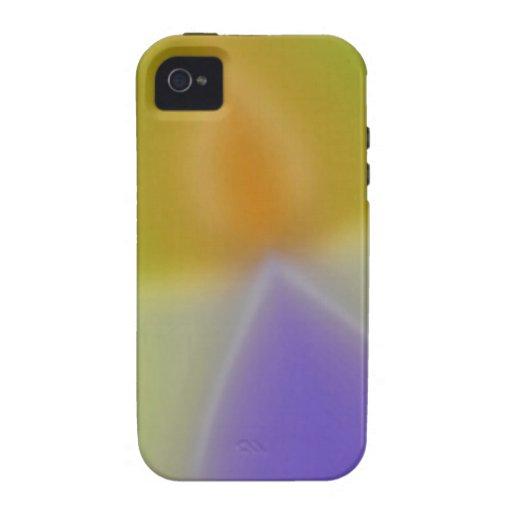 El extracto colorea a invasores Case-Mate iPhone 4 funda