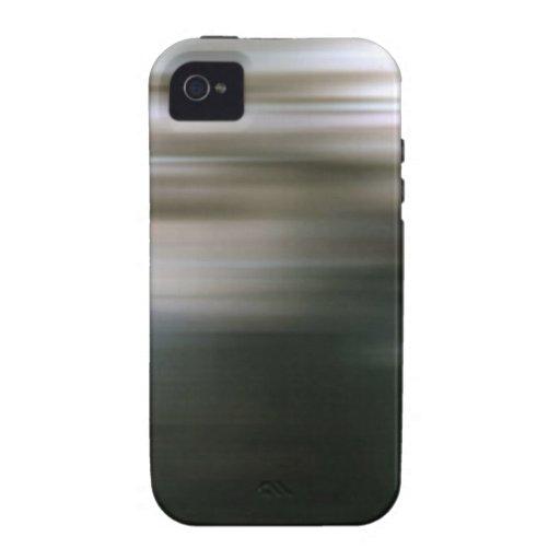 El extracto colorea al chica corriente Case-Mate iPhone 4 carcasa