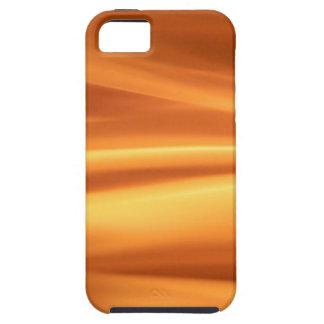 El extracto colorea el oro Stram iPhone 5 Case-Mate Cárcasas