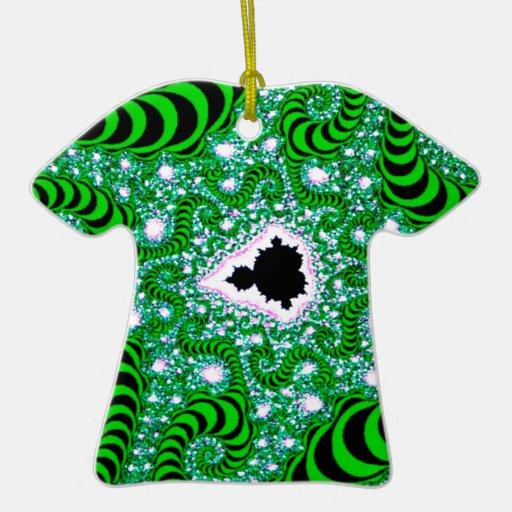 El extracto colorea gusanos verdes adorno
