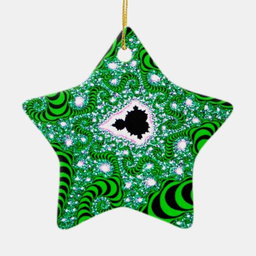 El extracto colorea gusanos verdes ornamentos de reyes