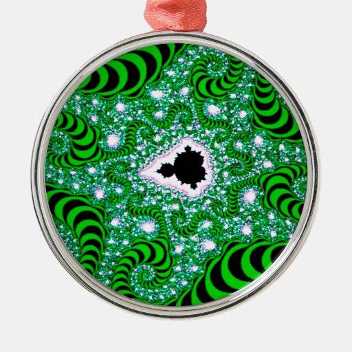 El extracto colorea gusanos verdes ornamento para reyes magos