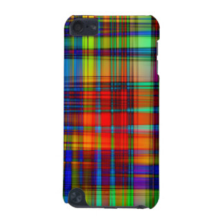 El extracto colorido raya arte carcasa para iPod touch 5G