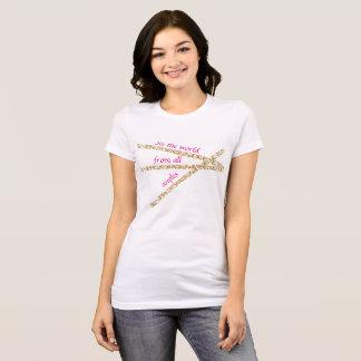 El extracto de las mujeres considera la camiseta