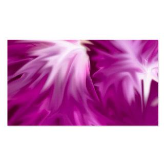 el extracto florece rosa tarjeta de visita