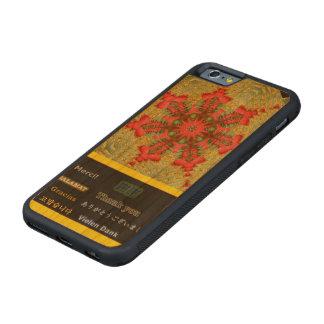 """El extracto """"le agradece"""" tulipán funda de iPhone 6 bumper cerezo"""