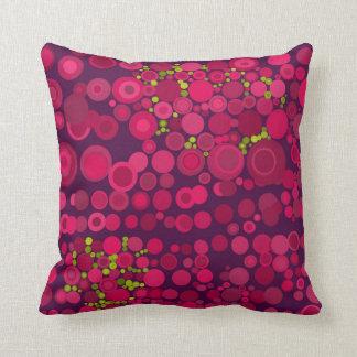 El extracto moderno del estilo puntea amortiguador almohada