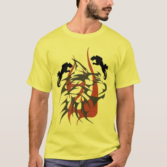 El extracto tribal de Roberto con las panteras Camiseta