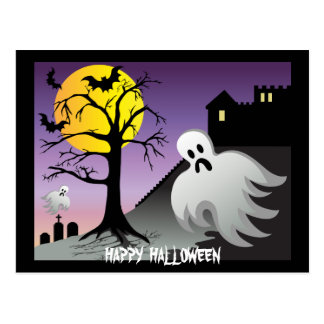 El fantasma de Halloween golpea el 10% de venta Postal