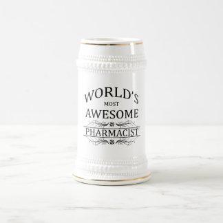 El farmacéutico más impresionante del mundo jarra de cerveza