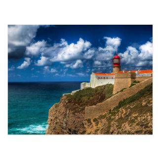 El faro de Cabo de São Vicente - Portugal Postal