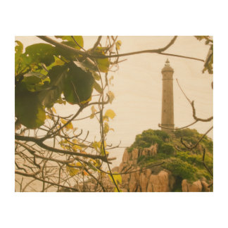 El faro más alto más viejo de Vietnam del arte de