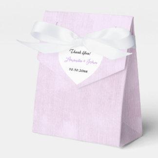 El favor en colores pastel del boda de Lila del Caja Para Regalos