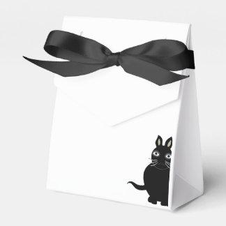 """El favor encajona el """"gato negro """" caja para regalos"""