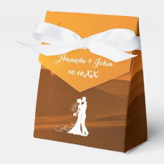 El favor toscano del boda de Italia le agradece Caja Para Regalos