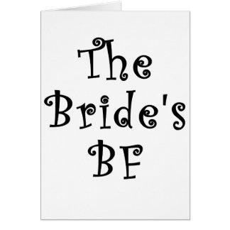 El FB de las novias Tarjeta De Felicitación