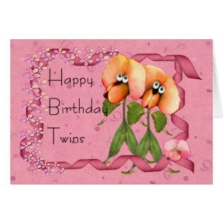 El feliz cumpleaños hermana los bombachos lindos tarjeta de felicitación