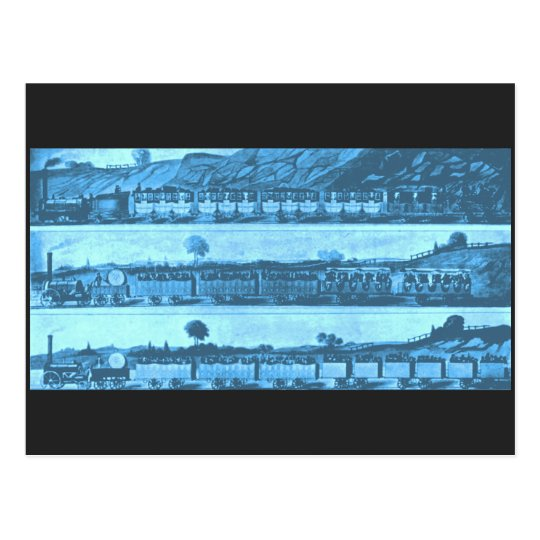 El ferrocarril de Liverpool y de Manchester, 1831 Postal