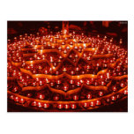 El festival de luces en la India Tarjetas Postales