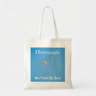 El Fibromyalgia no me retendrá tote Bolso De Tela