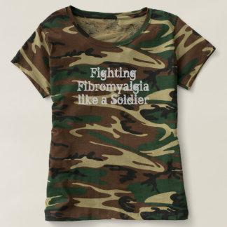 El Fibromyalgia que lucha tiene gusto de una Camiseta