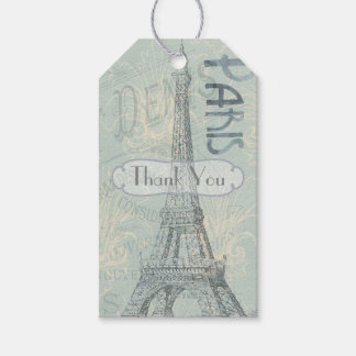 El fiesta corporativo de París añade el logotipo Etiquetas Para Regalos