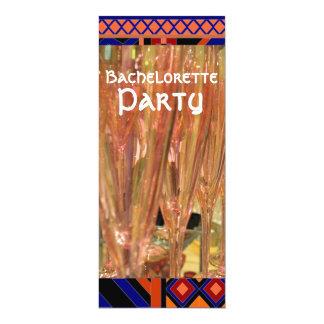 El fiesta de Bachelorette bebe la invitación de