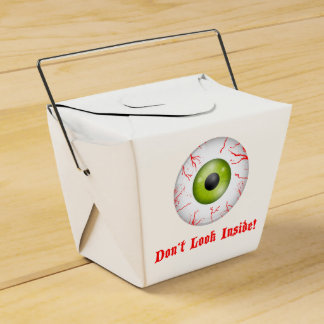 El fiesta de Halloween del ojo inyectado en sangre Caja De Regalos