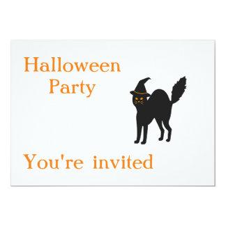 El fiesta de Halloween invita Invitación 12,7 X 17,8 Cm