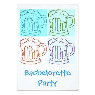 El fiesta de la cerveza de Bachelorette invita Invitación Personalizada
