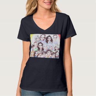 El fiesta de sorpresa Caricatures la camisa 13a
