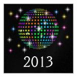 El fiesta del Año Nuevo - SRF Invitación 13,3 Cm X 13,3cm