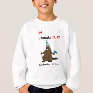 El fiesta del castor de Canadá 150 en 2017 celebra Sudadera