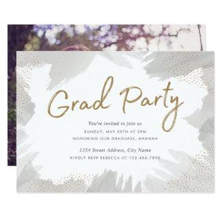 El fiesta del graduado de los movimientos del invitación 12,7 x 17,8 cm