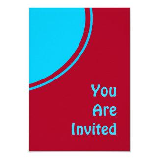 El fiesta retro de la turquesa roja colorida comunicado personal
