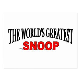 El fisgón más grande del mundo postal