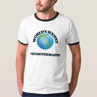 El fisioterapeuta más atractivo del mundo camisetas