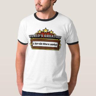 El fisioterapeuta más grande del mundo camisetas