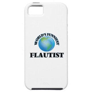 El flautista más divertido del mundo iPhone 5 cárcasas