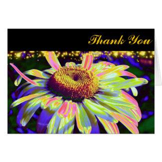 El flower power le agradece las tarjetas