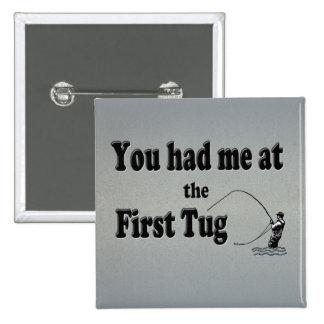 El Flyfishing: ¡Usted me tenía en el primer tirón! Chapa Cuadrada