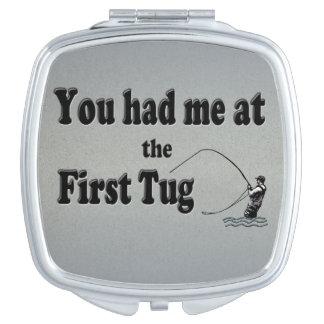 El Flyfishing: ¡Usted me tenía en el primer tirón! Espejos De Maquillaje