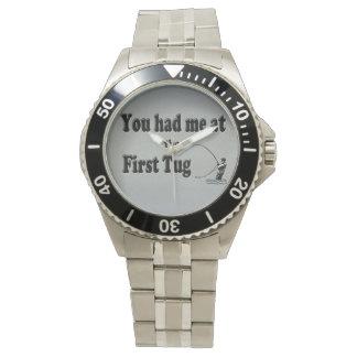 El Flyfishing: ¡Usted me tenía en el primer tirón! Relojes De Pulsera