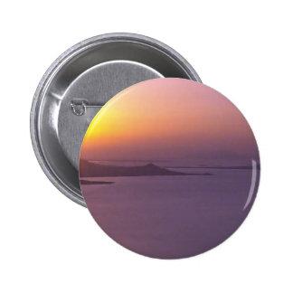 El fondo de la PUESTA DEL SOL añade la FOTO Chapa Redonda De 5 Cm
