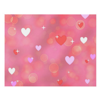 El fondo de la tarjeta del día de San Valentín Cuadro