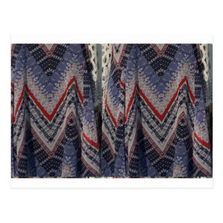 El fondo de la textura de la tela de la moda diy postal