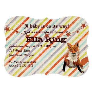 El Fox ambarino raya la invitación de la fiesta de