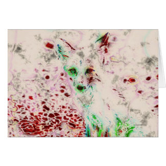 El Fox del fantasma observa la tarjeta roja y