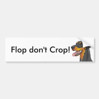 ¡El fracaso no cosecha! Uncropped natural del Pegatina Para Coche