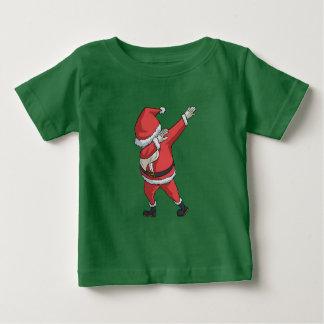 El frotar divertido del navidad de la camiseta de